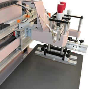 Maszyna do sitodruku na płasko, stół z podsysem