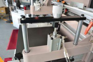 Maszyna do sitodruku na płasko, system mesh off