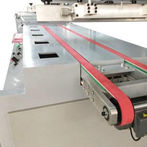 Maszyna do sitodruku na płasko, system rozładunku
