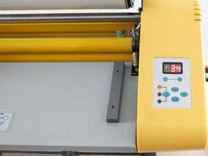 Foliarka FM358, laminator rolowy na gorąco 4