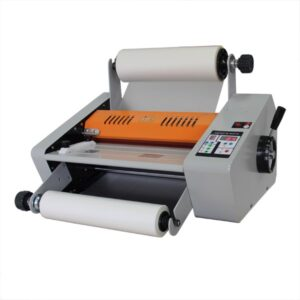 Foliarka FM380, laminator rolowy na gorąco 3