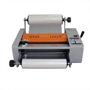 Foliarka FM380, laminator rolowy na gorąco