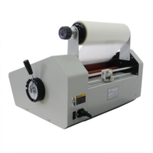 Foliarka FM380, laminator rolowy na gorąco 4