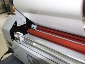 Foliarka FM380, laminator rolowy na gorąco 5