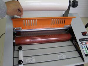 Foliarka FM380, laminator rolowy na gorąco 6