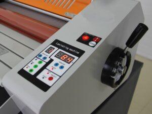 Foliarka FM380, laminator rolowy na gorąco 8